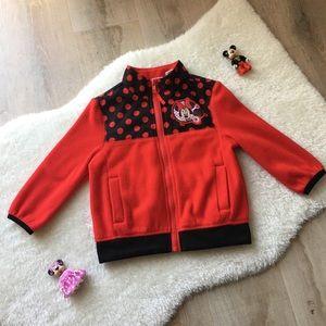 Disney Minnie Mouse Fleece Full Zip Jacket 2T